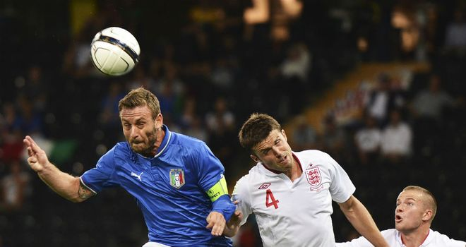 Daniele De Rossi: The midfielder was on Wednesday in action against England in Switzerland