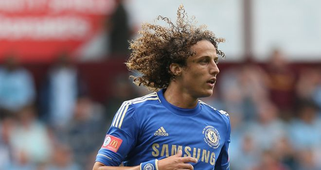 David Luiz: The defender is expected to return against Newcastle in place of the injured John Terry