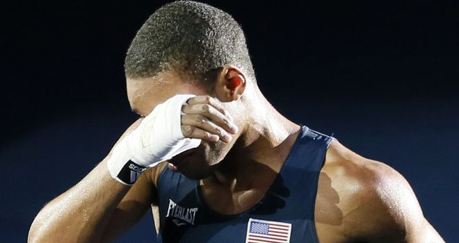 American welterweight Spence was given a reprieve at London 2012