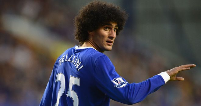 Marouane Fellaini: Was pleased with Everton's team performance