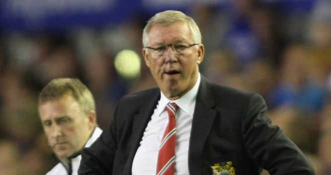 Sir Alex Ferguson: Has demanded positive reaction from his United side