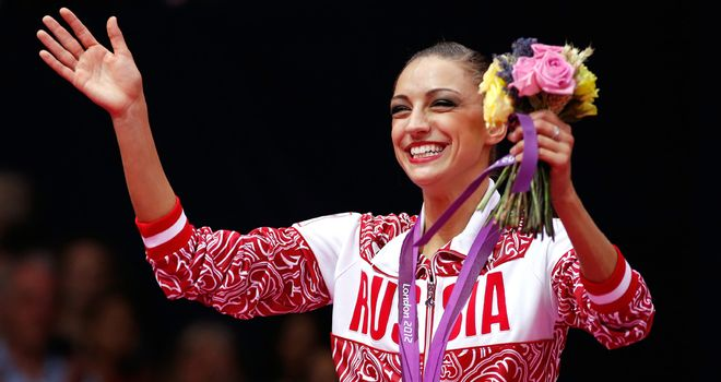 Kanaeva: Retained her Olympic title