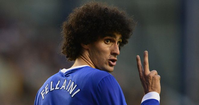 Fellaini: the Belgian could be a big factor on Sunday, says Didi