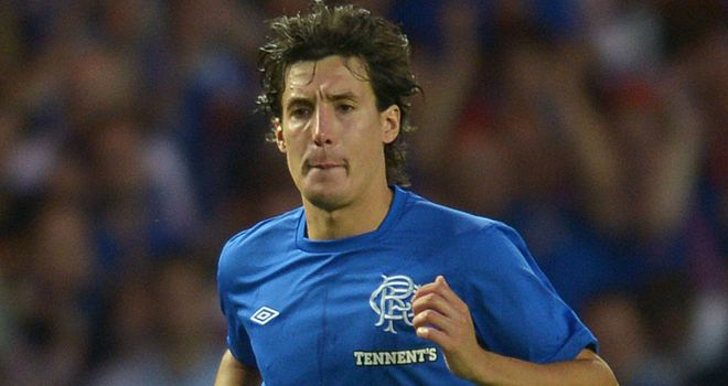 Francisco Sandaza: Suspended by Rangers following hoax interview