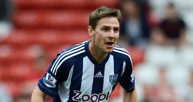 Zoltan Gera: Could face another spell on the sidelines after picking up an Achilles problem playing for Hungary