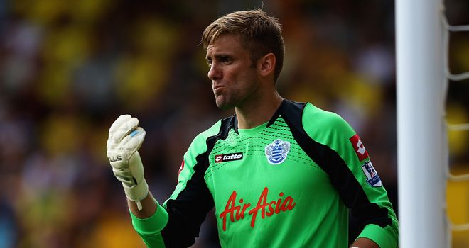 Rob Green: Wants to stay at QPR