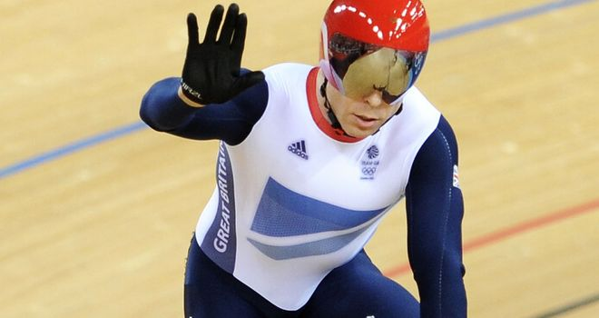 Sir Chris Hoy: Struck down by stomach virus