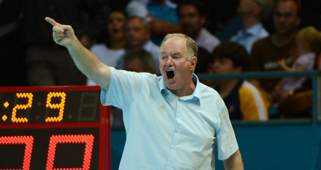 Hungary¿s head coach Denes Kemeny