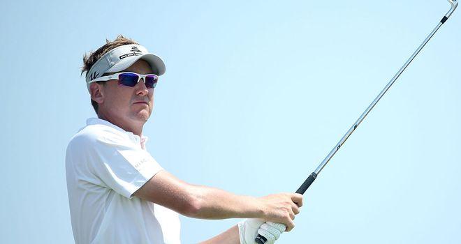 Ian Poulter: had to settle for a share of third