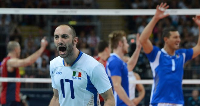 Italy: Celebrate against USA