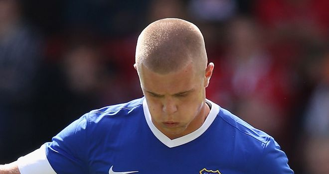 Jake Bidwell: On loan from Toffees