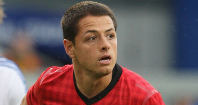 Javier Hernandez: Manchester United striker is happy with the competition for places