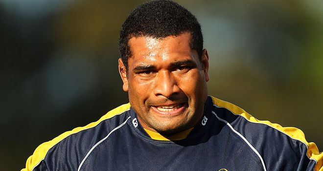 Jerry Yanuyanutawa: Makes the switch from Super Rugby