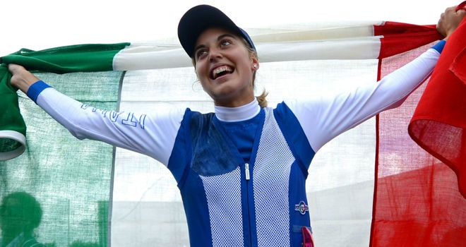 Jessica Rossi: missed only one target out of 100 in women's trap