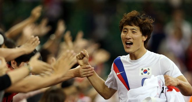 Ji Dong-won: The South Korean won a bronze medal at the 2012 Olympics