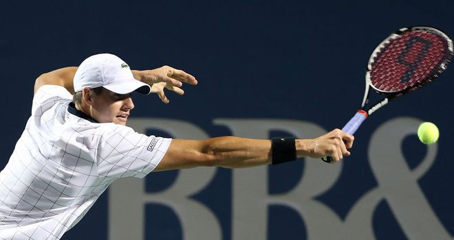 Isner: America's highest-ranked male player must grow his game, says Barry