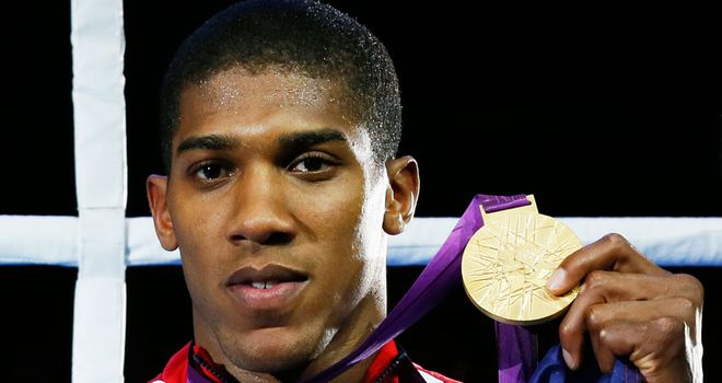 Anthony Joshua: Back in the gym with GB Boxing