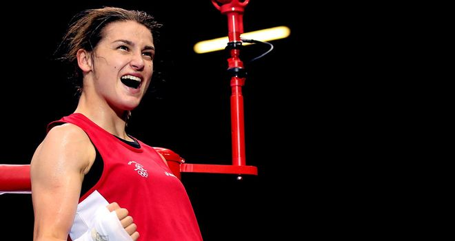 Katie Taylor: Will fight for the lightweight gold medal