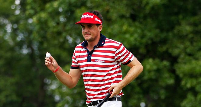 Keegan Bradley: Snatched victory at the 18th hole
