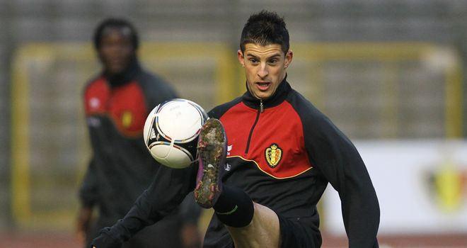 Kevin Mirallas: Grabbed third for Belgium