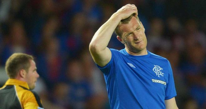 Kevin Kyle: The Rangers hitman is determined to show he has left his injury worries behind him