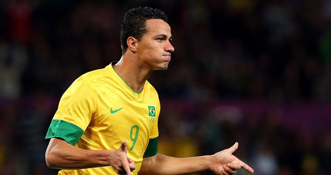 Leandro Damiao: Fine form at London 2012 saw the striker linked with a move to Europe