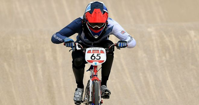 Liam Phillips: Hoping for success in the men's BMX event