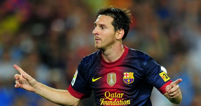 Lionel Messi: Scored as Barcelona thrashed Rayo Vallecano 5-0 away from home