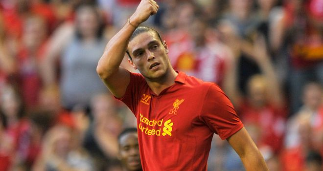 Andy Carroll: Was absent for Liverpool's win over Hearts