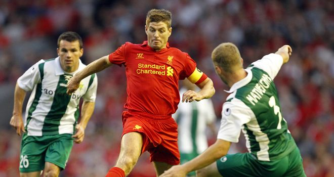 Steven Gerrard: Not panicking after opening day defeat