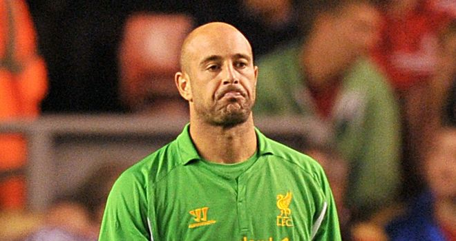 Pepe Reina: Has struggled this season but will not be leaving Liverpool, according to his agent