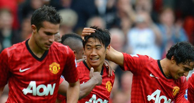 Shinji Kagawa: Marked his Manchester United home debut with a goal in the win over Fulham