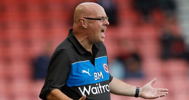 Brian McDermott: delighted with his side's display away at Loftus Road