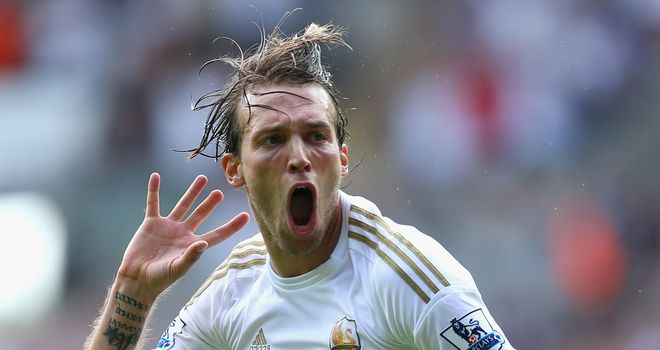 Michu: Enjoying how open the Premier League is compared to Spain