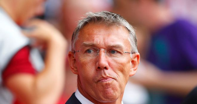 Nigel Adkins: Southampton manager is staying positive after the 3-2 defeat by Manchester United
