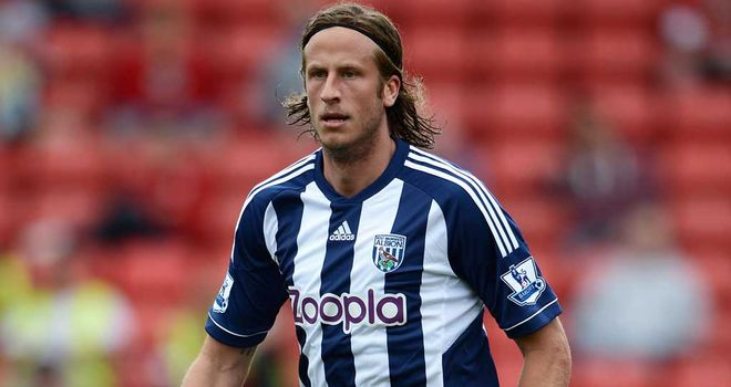 Jonas Olsson: Defender has one year left at West Brom