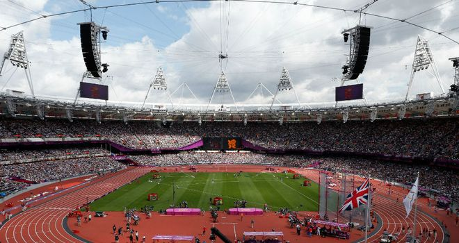 Olympic Stadium: Full for opening day