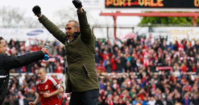 Paolo Di Canio: Former Swindon boss departed the club this week