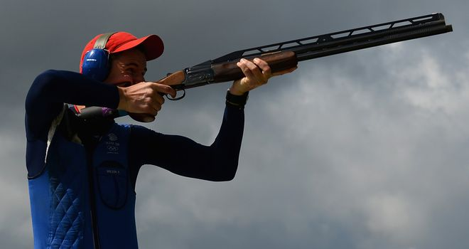 Peter Wilson: claimed gold for GB in the men's double trap