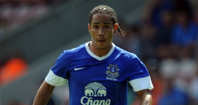Steven Pienaar: Everton midfielder will miss the derby against Liverpool due to suspension