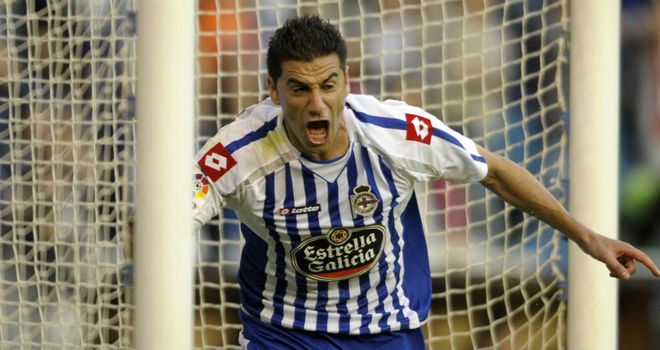 Riki: Among the goals as Deportivo returned to the top flight with a win