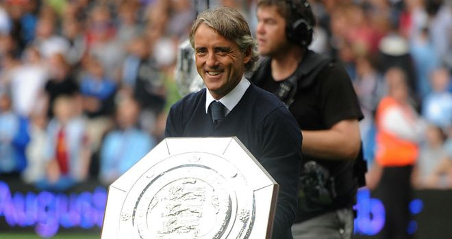 Roberto Mancini: The Manchester City boss has been seemingly unhappy with Brian Marwood