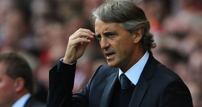Roberto Mancini: Thought his team were sluggish in win over QPR