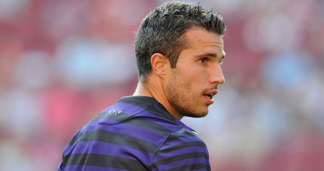 Robin van Persie: Has sought advice from experienced coach Van Gaal