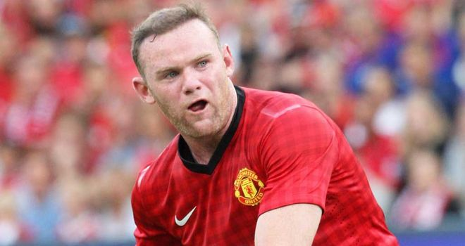 Wayne Rooney: Enjoys being at the heart of the action