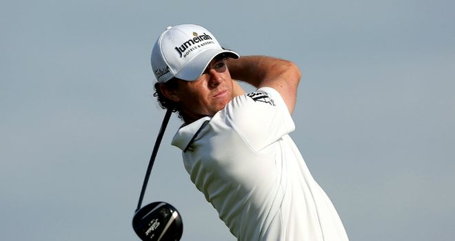 Rory McIlroy: Three shots clear heading into final round