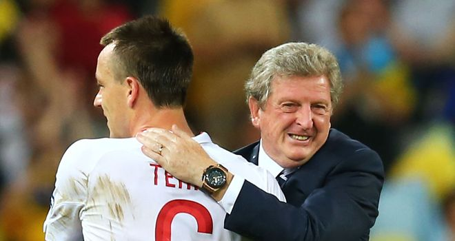 Roy Hodgson: Hopes John Terry is cleared of FA charge