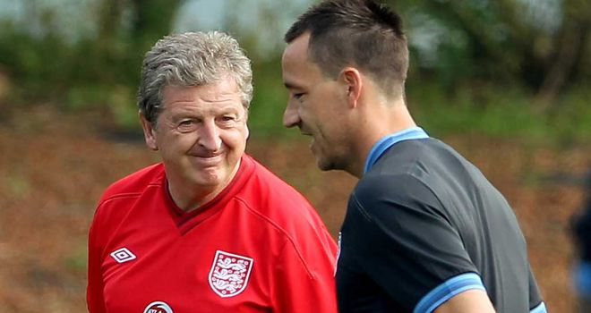 John Terry: England manager Roy Hodgson has always maintained he would pick the defender if fit