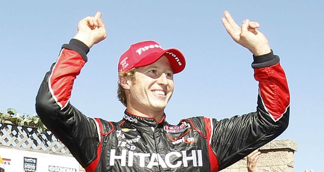 Ryan Briscoe: Secured his first victory of the season on Sunday