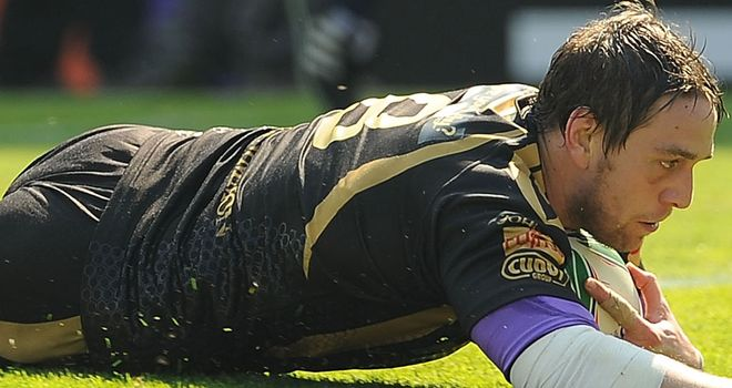 Ryan Jones: Hopeful over the Ospreys' chances of making it through to the knock-out stage of the Heineken Cup